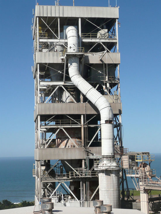preheater tower 2