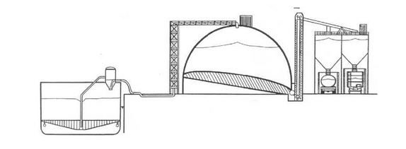 Figure 3: Typical Dome Storage System (Image courtesy of Cement Distribution Consultants)