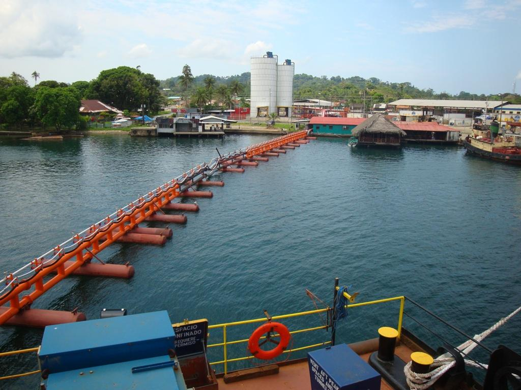 Figure 7: Floating Pipeline to Truck Loading Bins